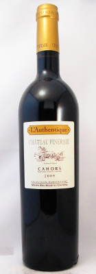 "Chateau Pineraie Cahors ""L'Authentique"" 2009 THUMBNAIL"
