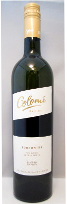 Colome Torrontes 2016