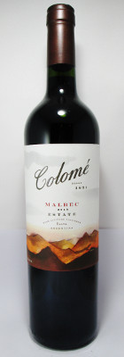 Colome Estate Malbec 2013