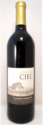"Cotes de Ciel Red Blend Ciel du Cheval Vineyard ""Flagship Reserve"" 2012"