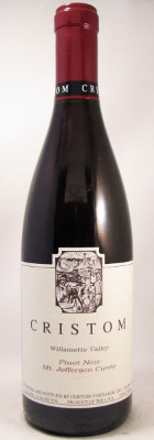 "Cristom Pinot Noir ""Mt. Jefferson Cuvee"" 2017 MAIN"