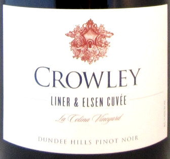 "Crowley Pinot Noir La Colina Vineyard ""Cuvee Liner & Elsen"" 2014 - 375 ml"