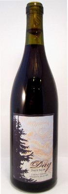 Day Wines Pinot Noir Cancilla Vineyard Willamette Valley 2015 THUMBNAIL