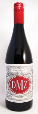 "DeMorgenzon Syrah ""DMZ"" 2011_MAIN"
