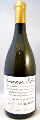 Domaine Eden Vineyards Chardonnay Santa Cruz 2015 THUMBNAIL