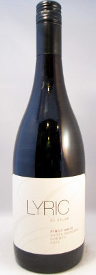 Lyric by Etude Pinot Noir 2013