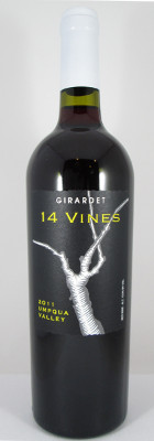 "Girardet Upmqua Valley ""14 Vines"" Red Wine 2011"