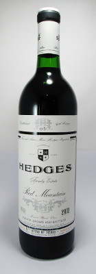 Hedges Family Estate Red Wine Red Mountain 2012