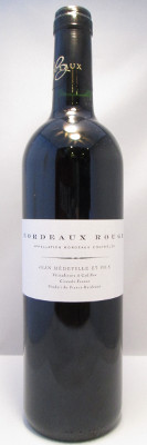 Jean Medeville Bordeaux Rouge 2012 MAIN