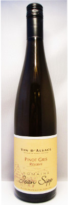 Domaine Jean Sipp Pinot Gris Reserve 2012