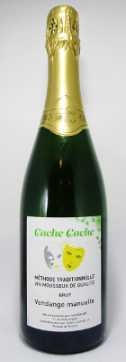 "Joel Bouvet Vin Mousseux de Qualit Methode Traditionelle Brut ""Cache Cache"" NV"