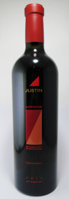 "Justin Paso Robles Red Blend ""Justification"" 2013"