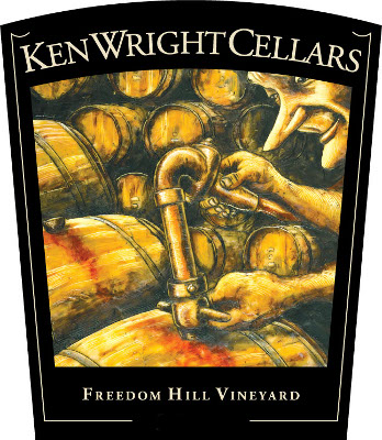 "Ken Wright Cellars Pinot Noir Freedom Hill Vineyard ""Cuvee L&E"" 2014 - 3000 ml_MAIN"