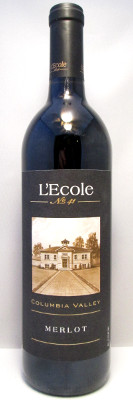 L'Ecole No. 41 Merlot Columbia Valley 2015 MAIN