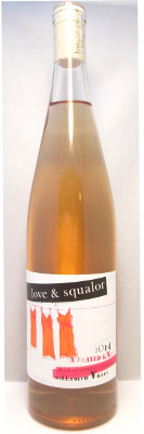 "Love & Squalor Rose of Gewurztraminer ""A Frayed Knot"" 2016"