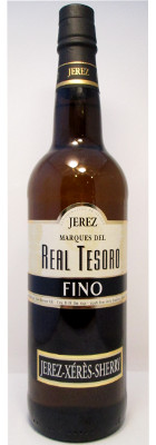 Marques del Real Tesoro Fino Seco Sherry NV