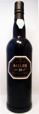 Miles Malmsey Madeira 10 Year Old Rich