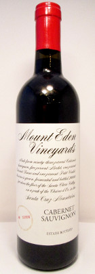 Mount Eden Vineyards Cabernet Sauvignon 2012