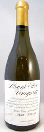 Mount Eden Vineyards Estate Chardonnay 2010
