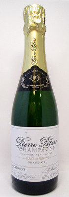 "Pierre Peters Blanc de Blancs Brut ""Cuvee de Reserve"" - 375 ml THUMBNAIL"