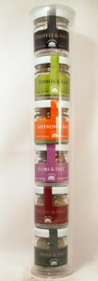 Casina Rossa Artisanal Salt Mini-Jar Sampler Pack