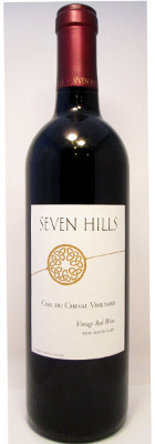 Seven Hills Ciel du Cheval Vineyard Red Wine 2014