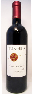 Seven Hills Malbec McClellan Estate Vineyard 2013