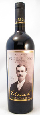 "Spring Valley Vineyard ""Uriah"" Red Wine 2012"