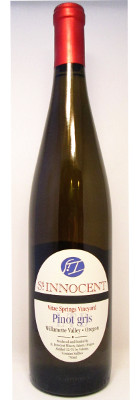 St. Innocent Pinot Gris Vitae Springs Vineyard 2013