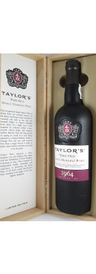 Taylor's Very Old Single Harvest Port Limited Edition 1969 MAIN