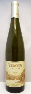 Tempus Cellars Riesling Evergreen Vineyard Ancient Lakes AVA 2013