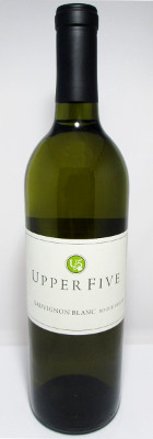 Upper Five Sauvignon Blanc Rogue Valley 2015