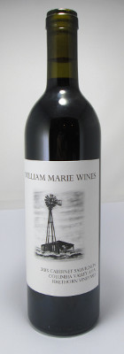 William Marie Wines Cabernet Sauvignon Firethorn Vineyard 2015
