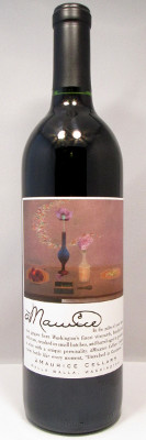 "aMaurice Cellars Red Wine ""Diamond Light in the Sky of the Mind"" 2010"