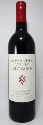 Alexander Valley Vineyards Homestead Red Blend 2014 THUMBNAIL