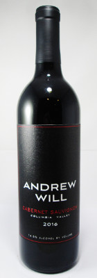 Andrew Will Cabernet Sauvignon Columbia Valley 2016