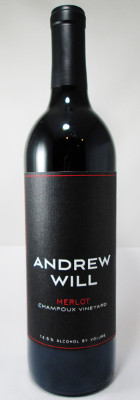 Andrew Will Merlot Champoux Vineyard 2017 THUMBNAIL