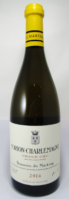 Bonneau du Martray Corton Charlemagne Grand Cru 2014_THUMBNAIL