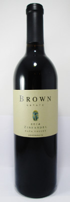 Brown Estate Zinfandel 2014