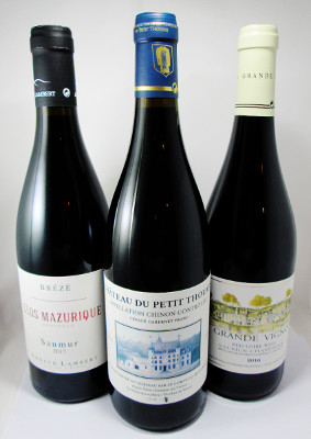 Loire Valley Cabernet Franc Sampler