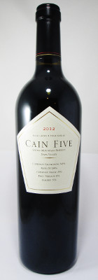 "Cain Vineyard Spring Mountain District ""Cain Five"" 2013"