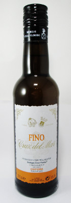 "Bodegas Cesar Florido Fino Sherry ""Cruz del Mar"" - 375ml THUMBNAIL"