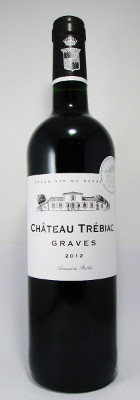 Chateau Trebiac Graves Rouge 2012