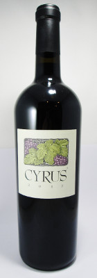 "Alexander Valley Vineyards Alexander Valley Red ""Cyrus"" 2012"