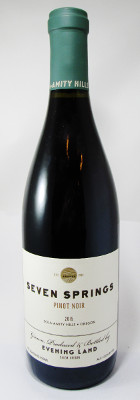 Seven Springs Vineyard (Evening Land) Pinot Noir Eola Amity Hills 2015 THUMBNAIL