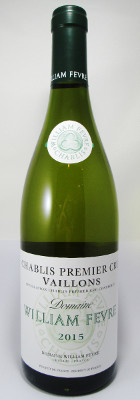 Domaine William Fevre Chablis 1er Cru Vaillons 2017 MAIN