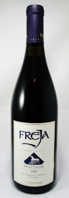 Freja Cellars Pinot Noir Willamette Valley 2013 THUMBNAIL