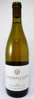 Goodfellow Family Cellars Pinot Gris Willamette Valley 2016