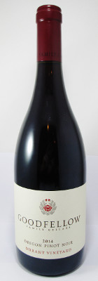 Goodfellow Family Cellars Pinot Noir Durant Vineyard 2013