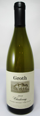 Groth Chardonnay Hillview Vineyard 2014